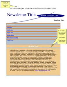 two page newsletter template newsletter articles provided plus free newsletter