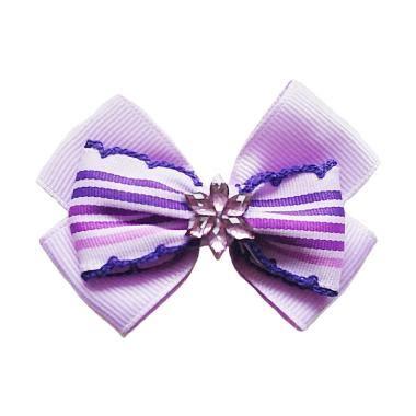 Jepit Rambut 8 Cm jual fashion pita jepit rambut anak ungu diameter 7 cm harga kualitas