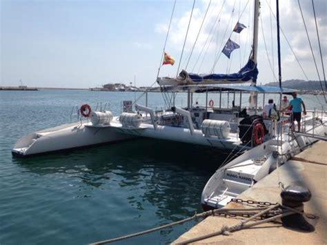 glass bottom boat javea catamar 225 n mundo marino visto desde proa picture of mundo
