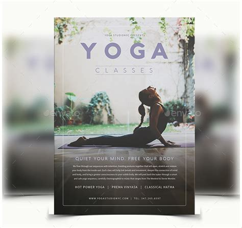 templates for yoga flyers 29 yoga flyer templates free premium download