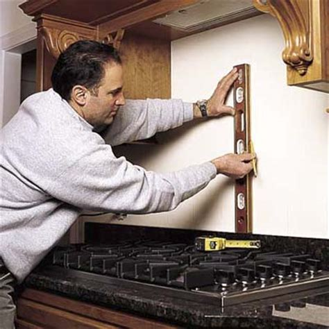 how to install kitchen backsplash prepare the wall how to install a tile backsplash this