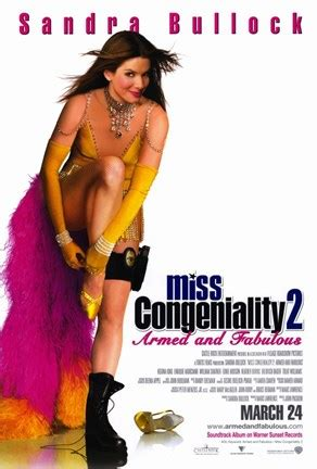 Armed And Fabulous by Miss Congeniality 2 Armed And Fabulous Wall Poster By