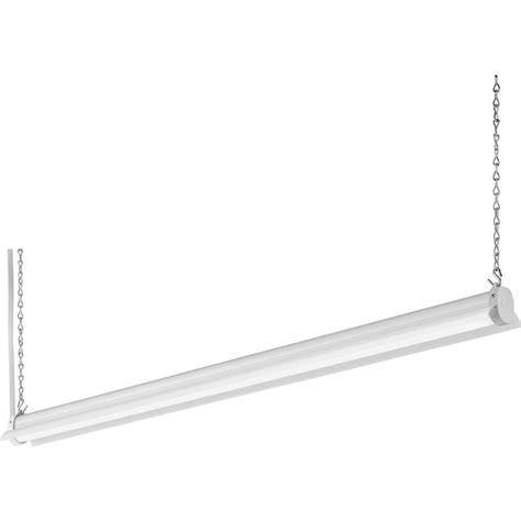 lithonia lighting 2 8 ft 34 watt white integrated led