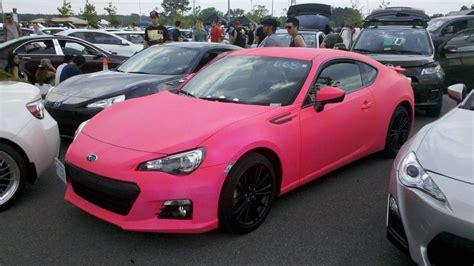 pink subaru brz dipped cars scion fr s forum subaru brz forum toyota