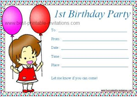 7 best images of birthday invitations