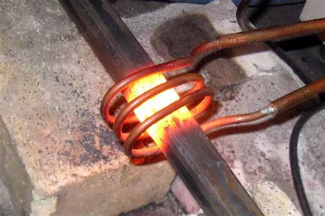 the blacksmiths induction forge
