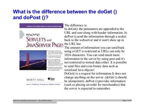 servlets interview questions tutorialspoint top servlets interview questions and answers job interview