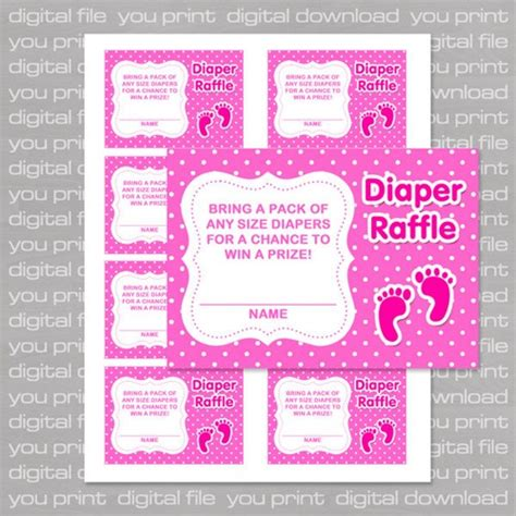 free printable baby shower raffle tickets template welcome to memespp