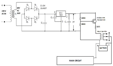 schematic diagram of regulated power supply schematic diagram of low voltage regulated power supply