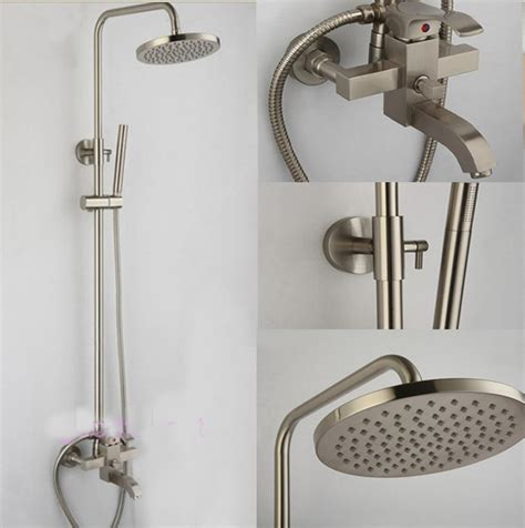 bathtub and shower faucets sink faucet design popular nickle bathtub faucet sets