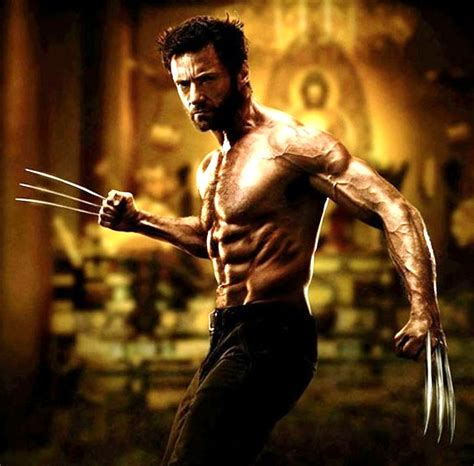 hugh jackman wolverine body wolverine movie 2013 cmdstore