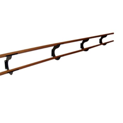 wall mounted double ballet barre double wall mounted ballet barre