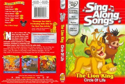 Paket Dvd Cd Original Sing Along Songs With Dibo sing along songs the king circle of 786936210958 disney dvd database