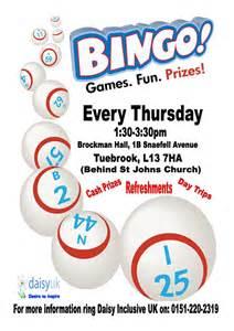 flyer for bingo http caudillwebsolutions com cfaninemile
