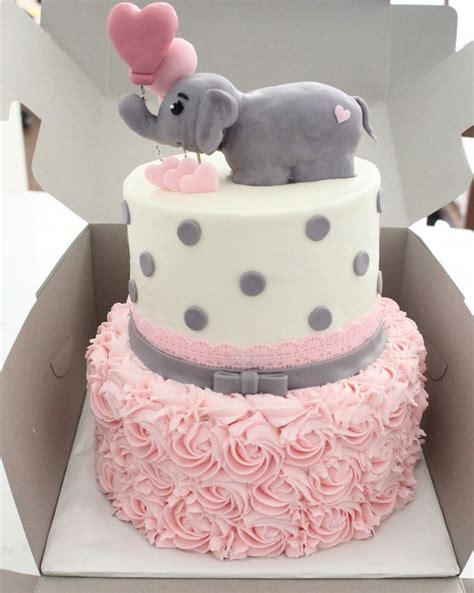 Baby Elephant Decorations For Baby Shower by Baby Shower Decoration Cake Ideas Elephant Theme