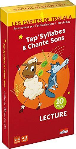 Asmodee Carte Question Reponse Enfant by Asmodee Tra01 Jeu Enfants Les Cartes Tralala Tap Syllabes Et Chante Sons La Caverne Du