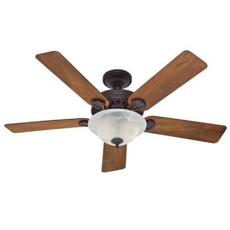 hunter fan blades amazon hunter 28710 insignia 52 inch 5 blade single light ceiling