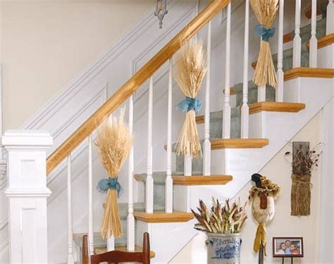 banister decorating ideas 13 gorgeous fall banister ideas motifbrophy