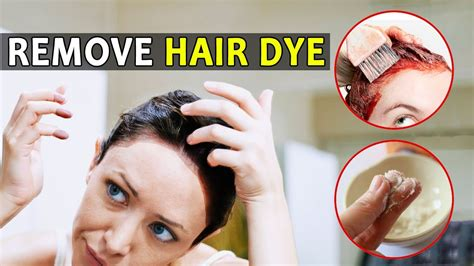 how to remove hair dye from skin nails and scalp fast