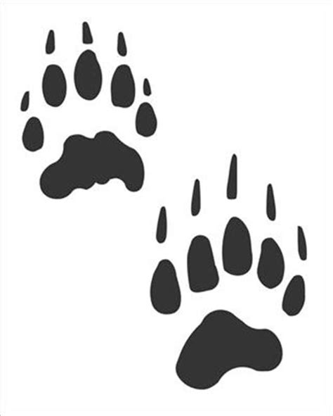 12 count badger paw prints vinyl art decal sticker