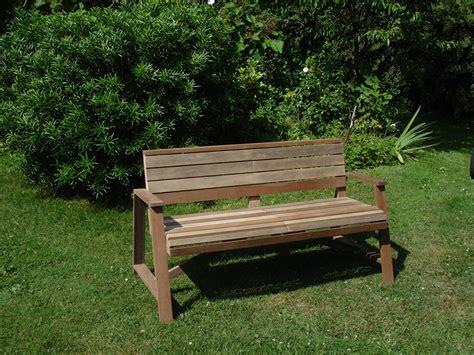Banc Jardin by Banc De Jardin Confortable Et Robuste En Bois Recycl 233