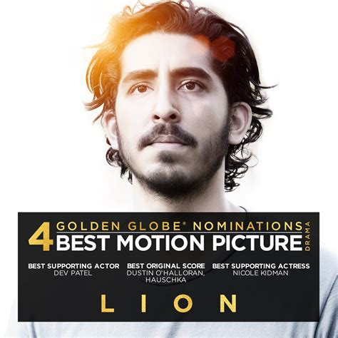 lion film garth davis lion nominated for four golden globes including best
