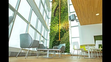 desjardins unveils  tallest indoor living wall