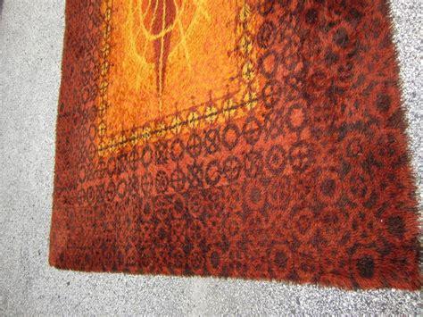 modern orange rugs vibrant and large orange swedish rya rug mid century modern at 1stdibs