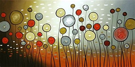 paintings to hang in bedroom wieco art extra large modern 100 hand painted stretched