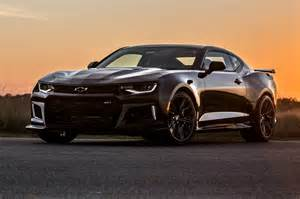 2017 camaro 1le and zl1 performance numbers new speed cars