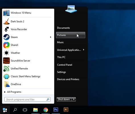themes for windows 7 start menu how to get the windows 7 start menu in windows 10