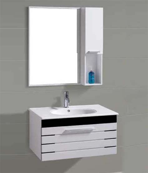 wash basin with cabinet buy online sanitop ceramic wash basin and pvc bathroom cabinets