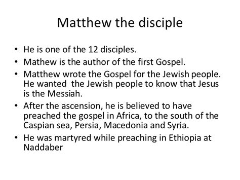 Information About Mat by St Matthew By Matthew Lowe