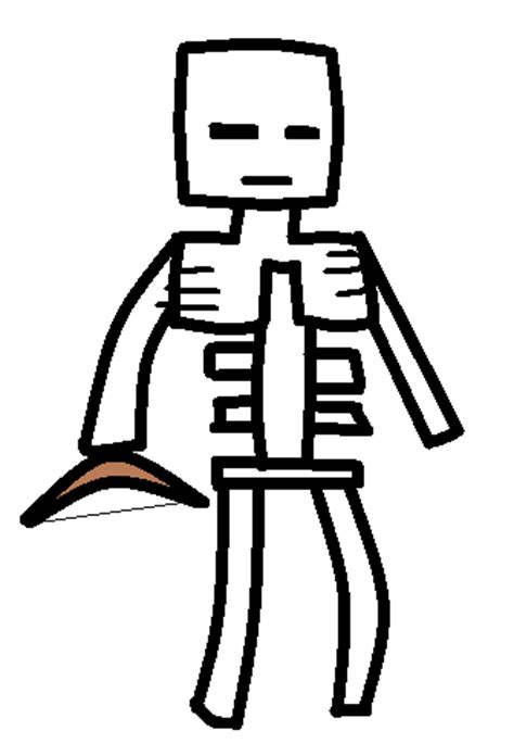 minecraft skeleton template skeleton template minecraft fanfictions wiki fandom