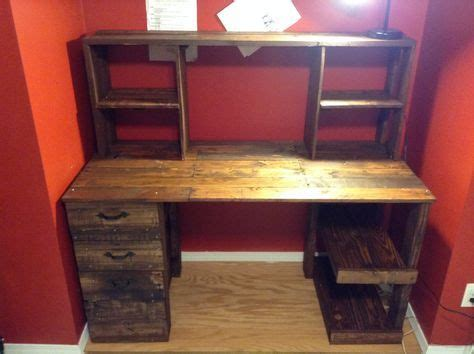 28 5 Diy Easy Wooden Pallet Desk Ideas 99 Pallets