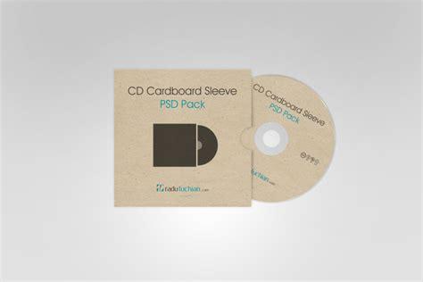 cd cardboard sleeve