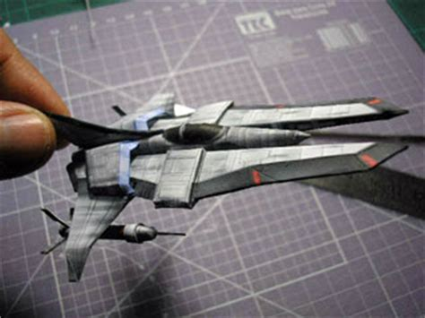 Papercraft Spaceships - free papercraft and paper model june 2010