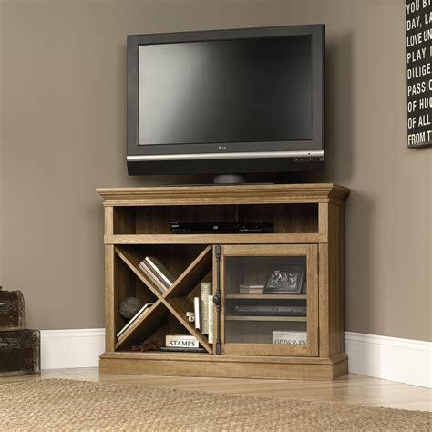 sauder corner tv cabinet sauder 414723 corner tv stand the furniture co