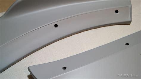 Kunststoff Lackieren Vorbereiten kfz tuningteile aus kunststoff f 252 r die montage vorbereiten