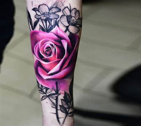 top 25 best pink tattoos ideas on pink