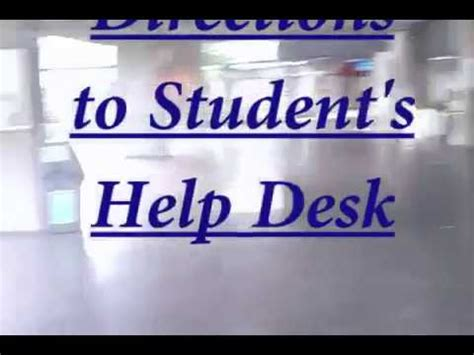 rug student support desk mechanical engineering student help desk directions