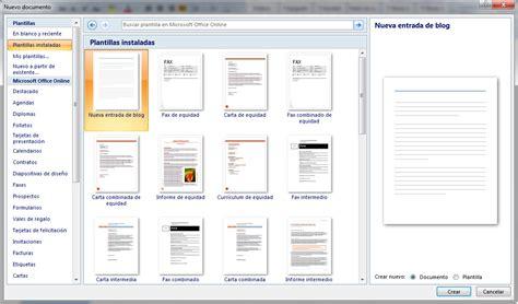 Plantilla De Curriculum Office 2007 Plantillas Instaladas Word