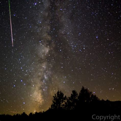 the perseid meteor shower is happening right now and it
