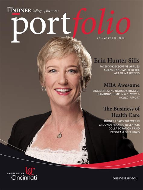 Cincinnati Executive Mba by Portfolio Magazine 2014 By Lindner College Of Business Issuu