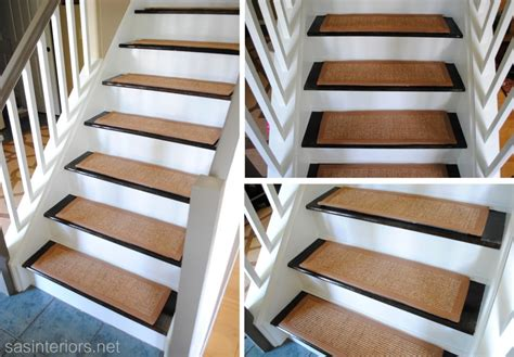 stairs rugs staircase makeover carpet treads images frompo