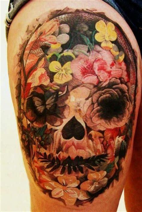 12 watercolor skull tattoo designs pretty designs 12 watercolor skull designs pretty designs