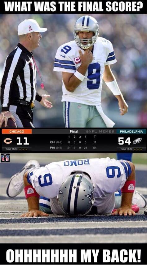 Tony Romo Injury Meme - nfl memes on twitter quot what really caused romo s injury