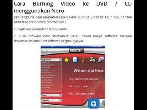 cara burn file video ke format dvd cara burning video data ke cd dvd dengan mudah youtube