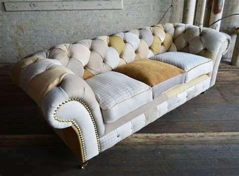 Chesterfield Patchwork Sofa - chester patchwork chesterfield sofa abode sofas