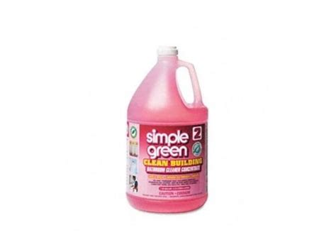simple green bathroom cleaner simple green 11101 clean building bathroom cleaner concentrate unscented 1 gal
